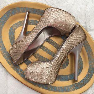 Louis Vuitton Sequin Heels size 37.5
